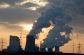 Image #: 21788013    The sun sets  behind the brown coal power plant Neurath near Grevenbroich, Germany, 27 March 2013. Photo: Federico Gambarini     DPA /LANDOV
